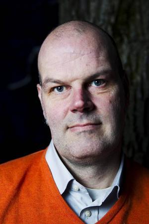 För Andreas Hoffman, vid Härjedalens Kulturcentrum, är det viktigt att lyssna till litteraturens rytmik.