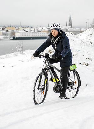 – Har man klarat av denna vinter så klarar man de kommande vintrarna, säger Johanna Keil.