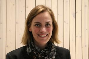 Moderaternas företrädare i Askersund, oppositionsrådet Caroline Dieker, hoppas på att bli kommunstyrelsens ordförande. Arkivbild.