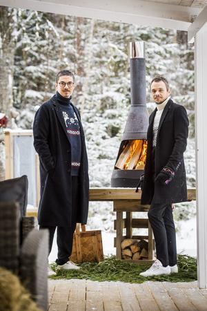 Tomas och Nicklas Lorentzon  flyttade till Harvbodarna vintern 2018.