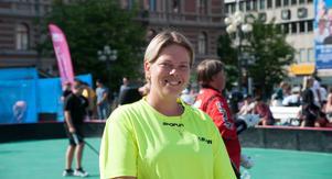Annsofi Klingsby är ordförande i Klockarbergets BK. Klubben står som arrangörer under Sundsvall Summer Floorball.