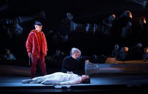 Frida Johansson, Susanna Levonen och Henrikka Gröndahl i Norrlandsoperans