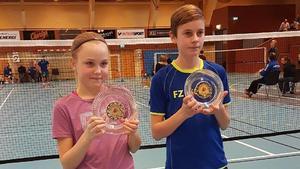 Nadine Olsson och Theo Larskog.