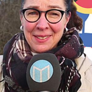 Knis Karin Björklöf, reporter med ansvar för Rättvik.