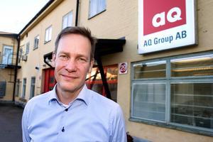 """""""Vi är mycket glada att Christina har accepterat utmaningen att ta över efter Mia som CFO på AQ Group"""", säger Anders Carlsson i ett pressmeddelande."""
