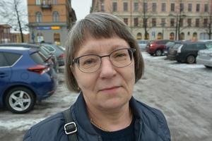 Inger Edström, 58, ekonomiassistent, Bergsåker.