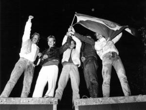 Den jämtländska patriotismen flödade enligt ÖP.