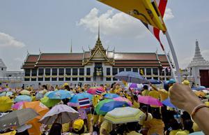 Thailändska prinsessan bodde i det Kungliga palatset i Bangkok. Gemunu Amarasinghe/AP Photo