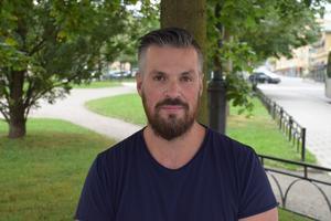 Magnus Edlund, 36 år, Pappersbruket, Sundsvall.
