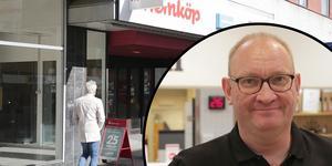Nu är han på plats, den nye butikschefen – och ägaren – till Hemköpsbutiken i Ludvika, Anders Pettersson.