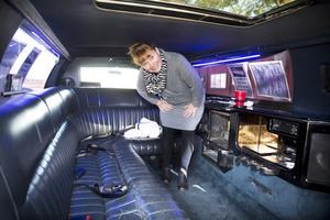 Lagårn skaffade en limousin år 2016. På bilden ägaren Maria Jansson.