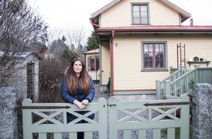 Det gamla huset i Storvik är nyrustat, men den gamla charmen finns kvar.