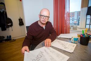 Thomas Forsberg och hustrun Anne Forsberg flyttar till Köpmangatan i mars 2019.