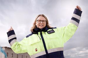 Sandra Mickelsson hyllar Graduateprogrammet och menar att det var en en bra start på hennes karriär.