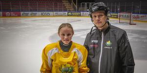 Frida Olofsson och Johnny Karlsson.