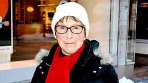 Ingrid Nilsson, 80 år, pensionär, Sundsvall: