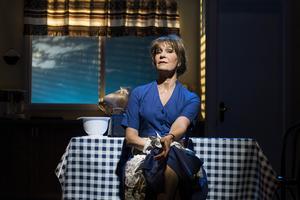 Maria Lundqvist i rollen som Shirley Valentine.