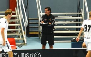 IBF Västerås tränare Nicklas Jonsson.