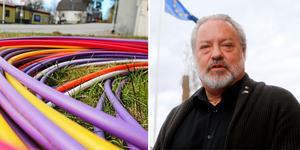 Robert Uitto, ordförande i Strukturfondspartnerskapet i Mellersta Norrland. Bilden är ett montage.