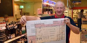 Handlaren Pär Hane, som just nu satsar ett antal miljoner på en ombyggnad och en 300 kvadratmeter stor utbyggnad av butiken i Gagnef, blev Årets företagare i Gagnef ifjol. Hans