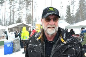 Sven Helmersson har varit med och arrangerat veteranskoterracet sedan starten 2013.
