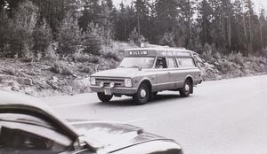 Bokbil 1975: Foto: Johny Gladh/VLT:s arkiv