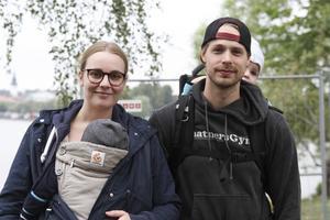 Simon och Meli Nordin från Sundsvall besöker marknaden varje år.