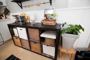Förvaring och avlastning  i köket.