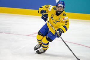 Emma Nordin gjorde fyra poäng i turneringen, men hennes mål mot Japan räckte inte till seger. Bild: Tomi Hänninen/Newspix24 (Bildbyrån)
