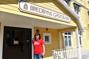 Ann-Katrin Zakrisson, ny ägare till Bredbyns Gästgiveri.