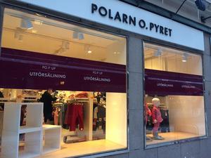 Polarn och Pyret i Stenstan hade utförsäljning i januari för att sedan stänga butiken i slutet av februari.