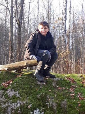 Holger gillar skogen. Foto: Maria Marelius