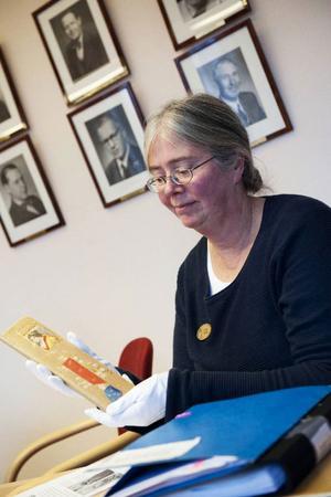 Cristina Agdler är en av de som arbetat med att läsa Ida Larsson dagbok och skapa den stadsvandring för barn som nu genomförs.