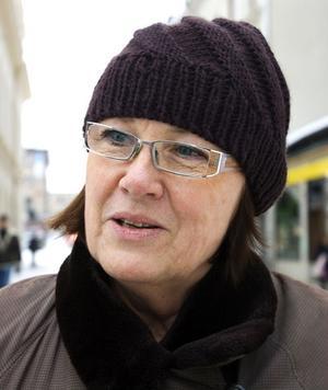 Astrid Rimfors, 60+, administratör, Ankarsvik.– Nej det ska jag inte. Men jag brukade vara det när barnen var små.
