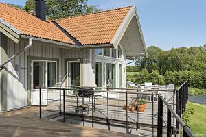 Villan har altan... Foto: Stefan Strindberg