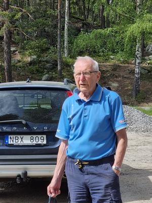 Orienteringsledare Rolf Krohn. Bild: Maj-Britt Norlander