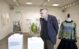 Konstföreningens ordförande Ove Svensson är oroad inför 2020 eftersom man inte kan teckna kontrakt med konstnärer när ingen vet om utställningshallen kommer att finnas kvar. (Arkivfoto: Lennye Osbeck)