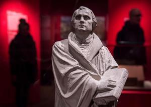 Martin Luthers tankar går igen i vårt politiska kulturarv.Foto: Jens Meyer/AP/TT