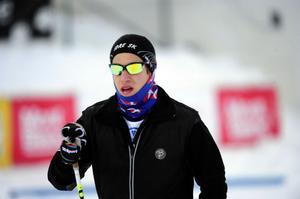 För sent, den avslutande SM-sprinten missade Simon som blandade ihop alla starttiderna.