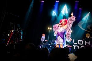 Babsan rockar loss till La dolce vita. Foto: Anton Ryvang