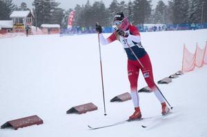Lotten Sjödén, Älvdalen, vid varvningen.