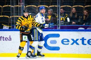 Trots en hedervärd insats föll Daniel Gunnarssons Leksand med 2–3 borta mot Skellefteå. Foto: Bildbyrån