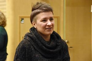 Kristdemokraternas Hanna Sydhage, ledamot i kommunfullmäktige och bildningsnämnden i Örnsköldsvik.