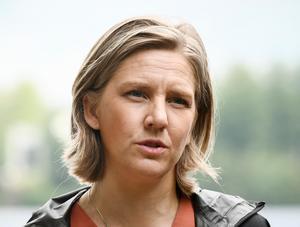 Miljöminister Karolina Skog (MP) är inte imponerad av den nya teknikutvecklingen. Foto: Johan Nilsson.