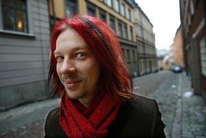 Poesistjärnan Bob Hanson saknas i antologin. Är han inte fin nog? Arkivbild från seklets barndom. Foto: Jonas Ekströmer