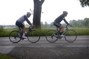 Christer Olsson och Niklas Eriksson har cyklat tillsammans i flera års tid.
