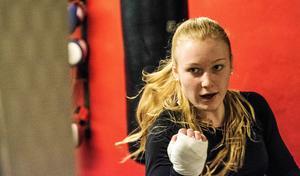 Elise Saulesco, BK Swing – guldmedaljörska för tredje gången.