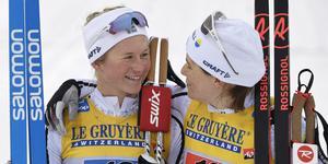 Maja Dahlqvist får till slut bonus för sina pallplatser.