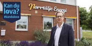 Tomas Karlsson, VD för Norrtälje Energi.