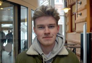 Max Stoelwinder, 18 år, studerande, Kvissleby: